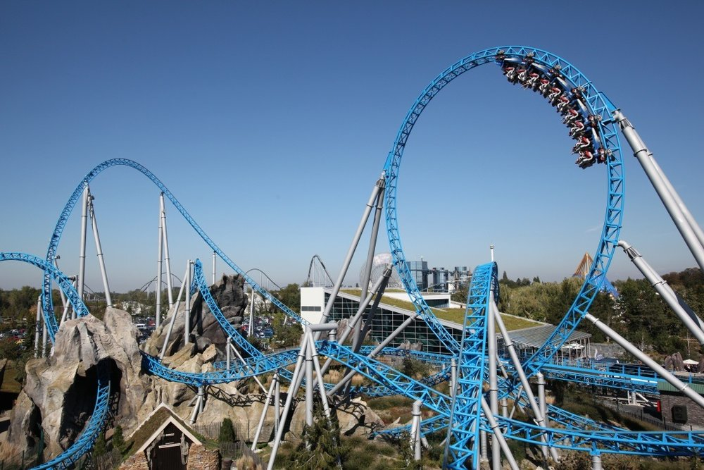 OnRide Soundtrack blue fire Megacoaster powered by Nord Stream 2 - Europa- Park Online shop