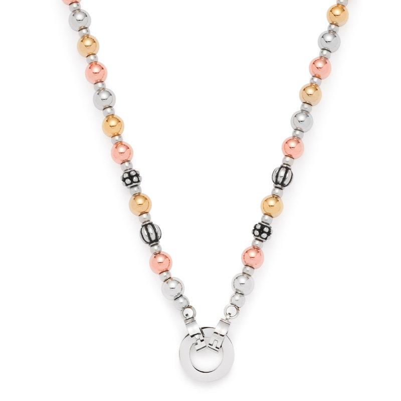 Halskette 45cm tricolor Diverso