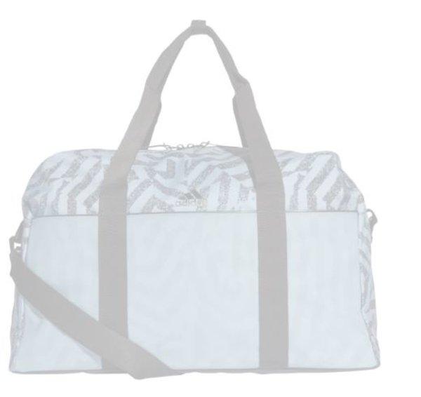 Adidas Canvas Bag Grau Schwarz