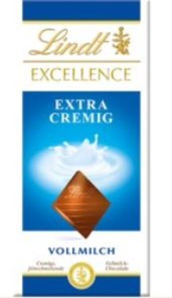 Lindt Excellence Extra Cremig 100g