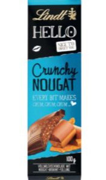 Lindt Hello Crunchy Nougat 100g