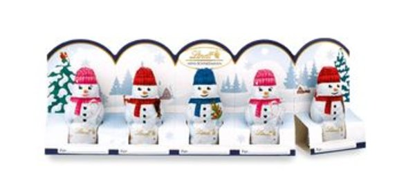Mini-Schneemänner
