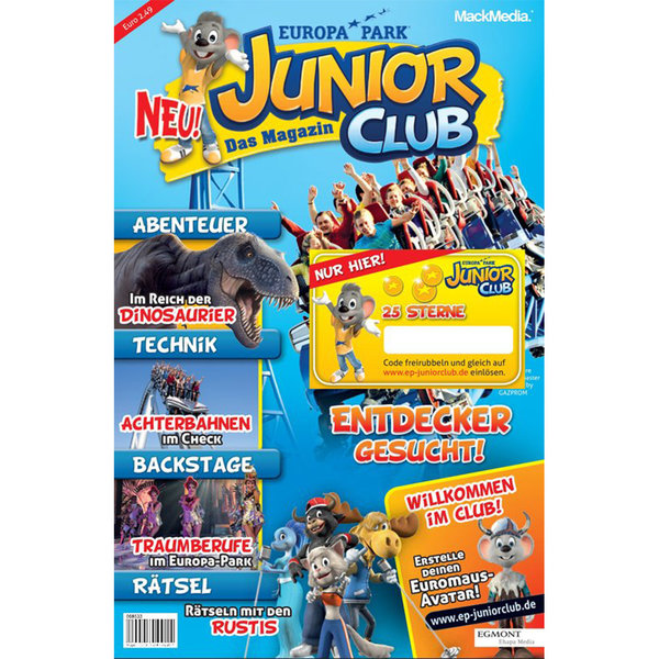 Magazin Europa-Park JUNIOR CLUB