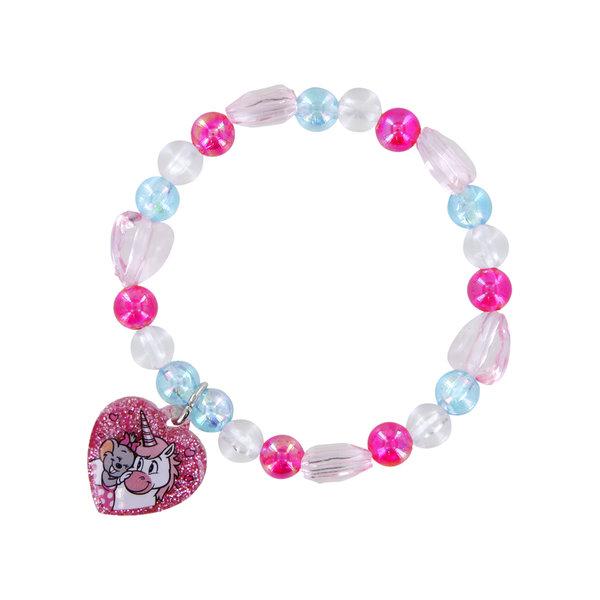 Bracelet Heart Edda Unicorn