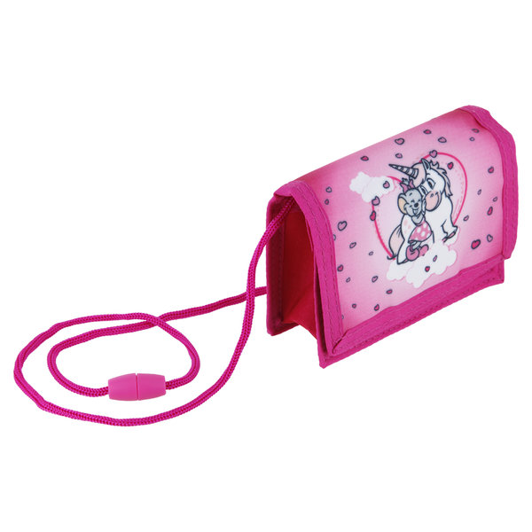 Children's Neck Pouch with Super Ed & Edda Unicorn