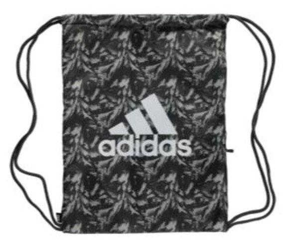 Turnbeutel Adidas Trefoil schwarz - grau