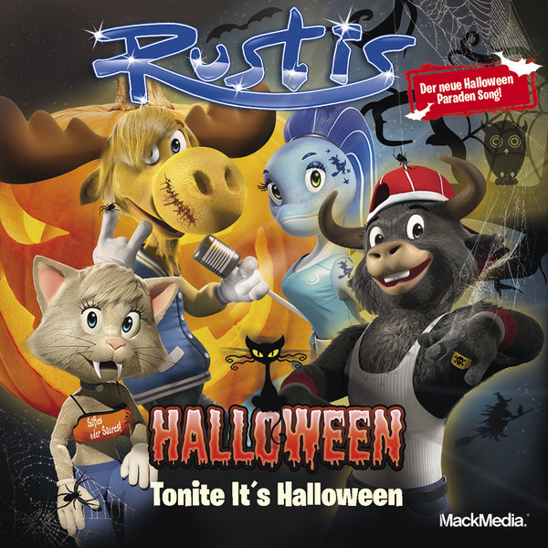 Maxi-Single Rustis Tonite is Halloween - Download