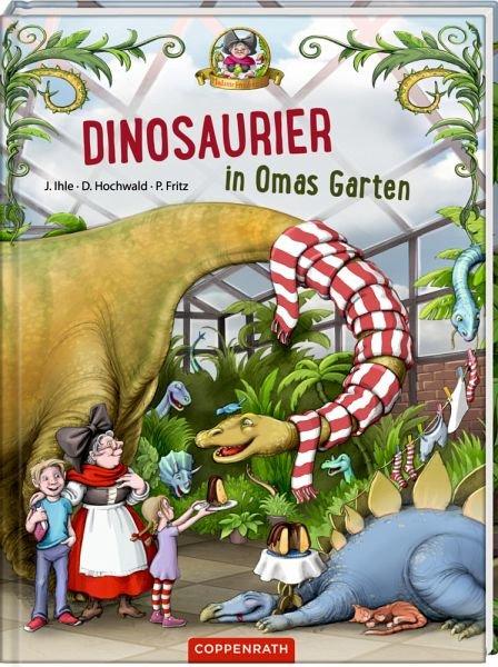 "Book ""Dinosaurier in Omas Garten"""