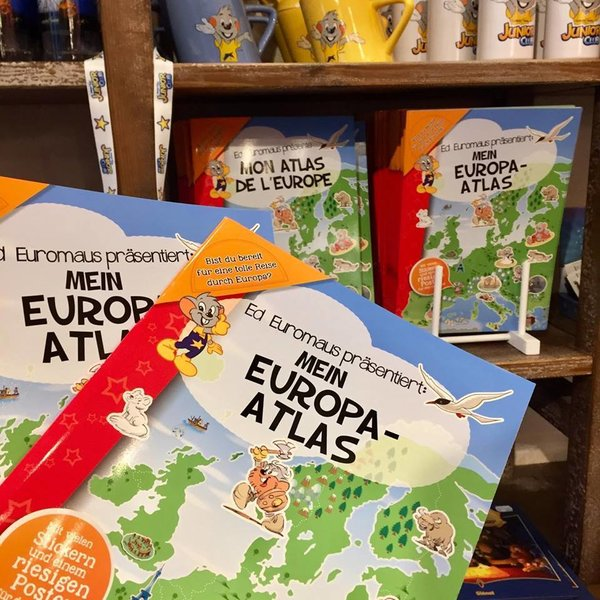 Buch Mein Europa-Atlas