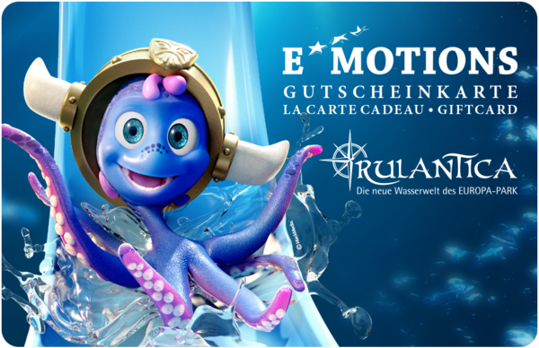 Bon pour un billet Rulantica (Carte Emotions)
