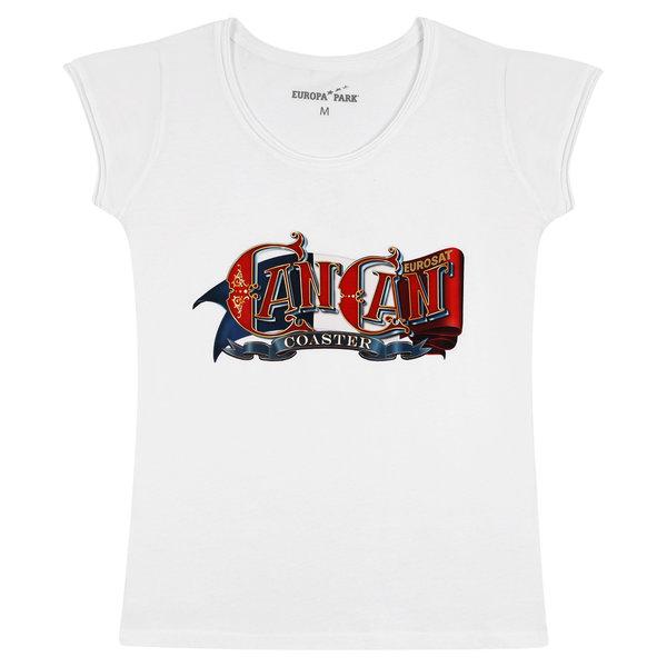 Woman\'s T-Shirt CanCan Coaster