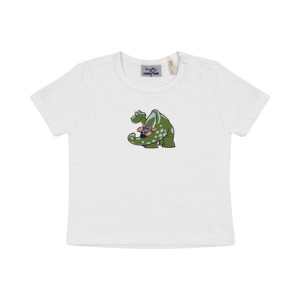Baby t-shirt white Ed Dino