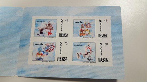 Briefmarkenset 4er Europa-Park