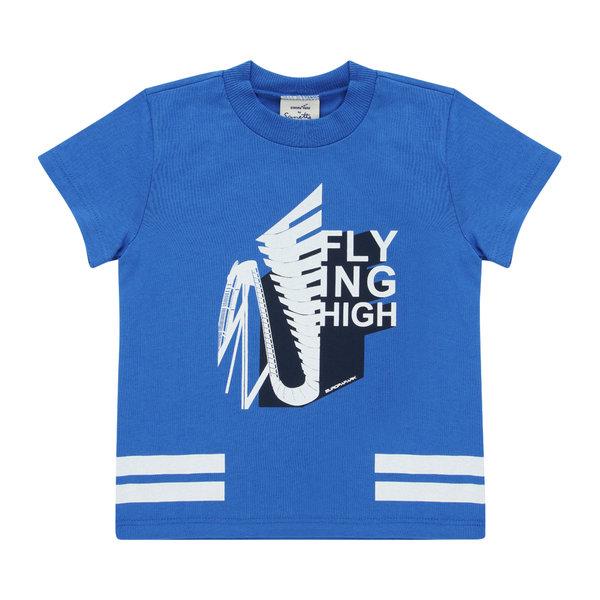 Jungen T-Shirt blau Coaster