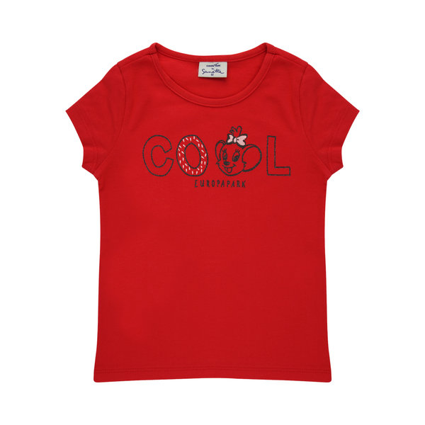 T-Shirt Baby red cool