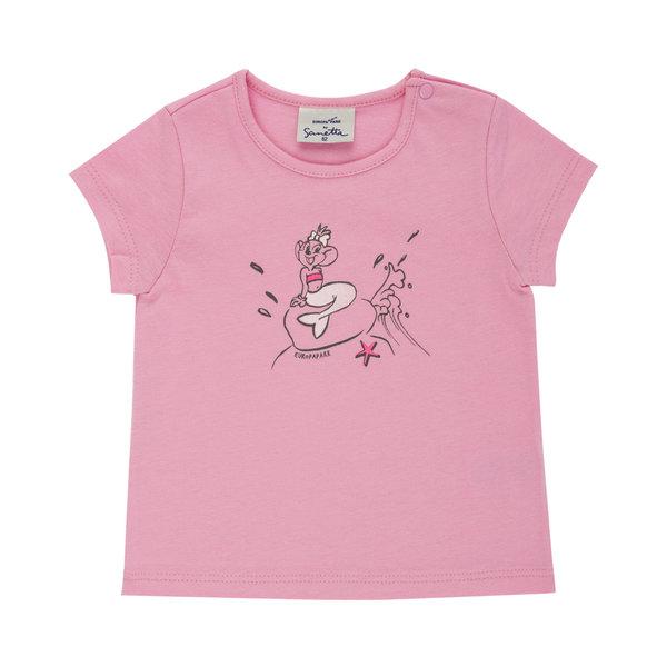 Baby t-shirt pink Edda Meerjungfrau