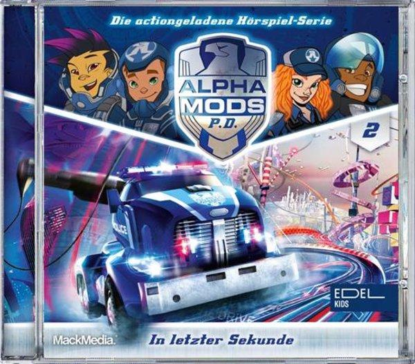 Hörspiel CD Alpha Mods - Folge 2 - In letzter Sekunde