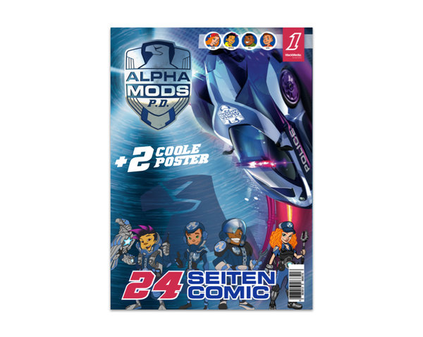 Comic Alpha Mods