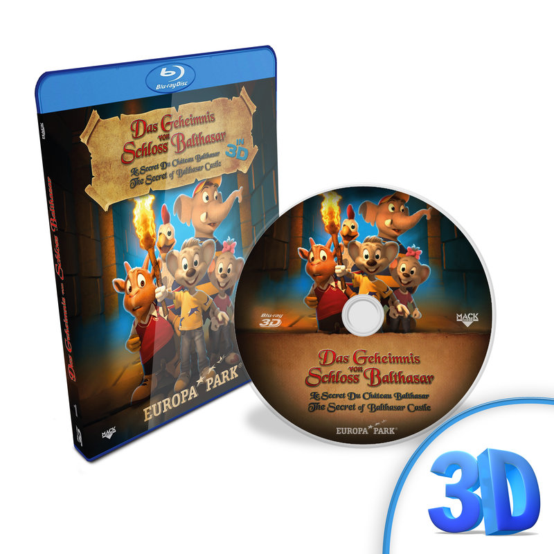 "Blu-ray ""Le Secret du Château Balthasar"""