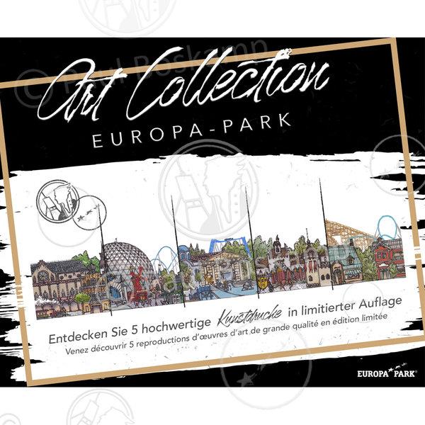 ARTCOLLECTION EUROPA-PARK LIMITIERTE KUNSTDRUCKE BOSKAMP