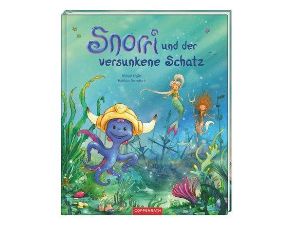Bilderbuch Snorri und der versunkene Schatz
