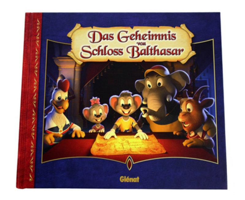 """Buch """"Das Geheimnis von Schloss Balthasar"""""""