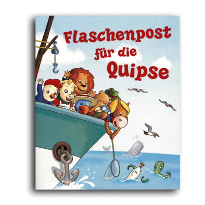 """Kinderbuch """"Flaschenpost für die Quipse"""""""