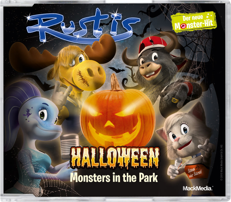CD Maxi-Single Rustis Halloween