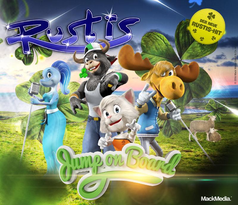 CD Maxi-Single Rustis Jump On Board