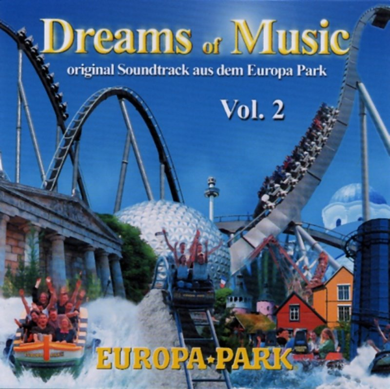 cd dreams of music vol 2 europa park online shop. Black Bedroom Furniture Sets. Home Design Ideas