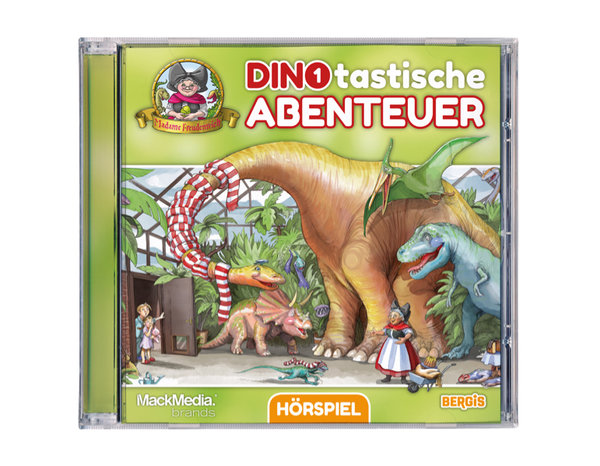 CD Hörspiel Madame Freudenreich ,,Dinotastische Abenteuer``