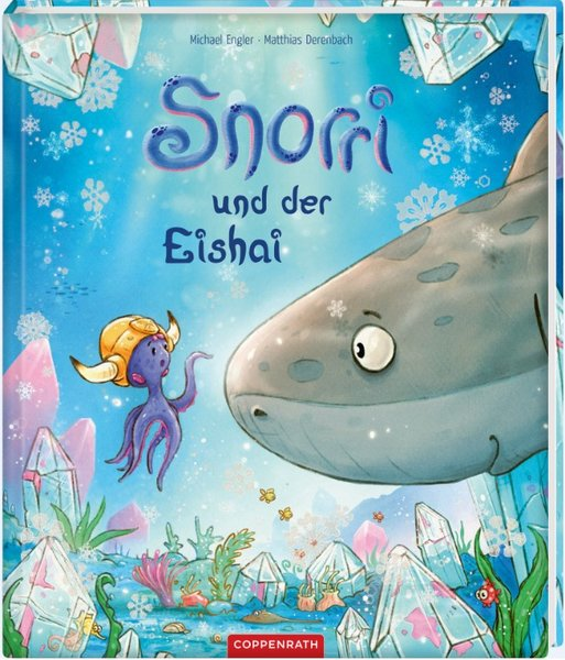 Bilderbuch Snorri und der Eishai German
