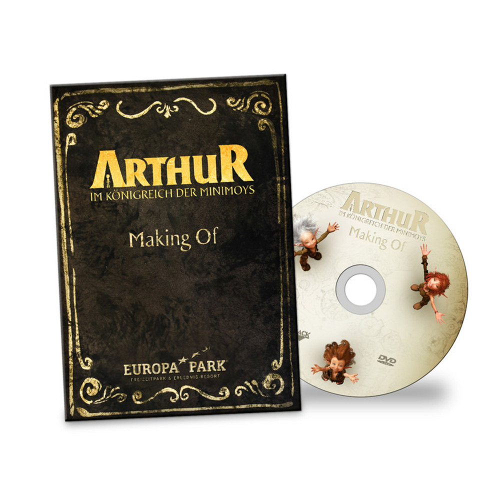 "DVD Making of ""ARTHUR - In the Minimoys Kingdom"""