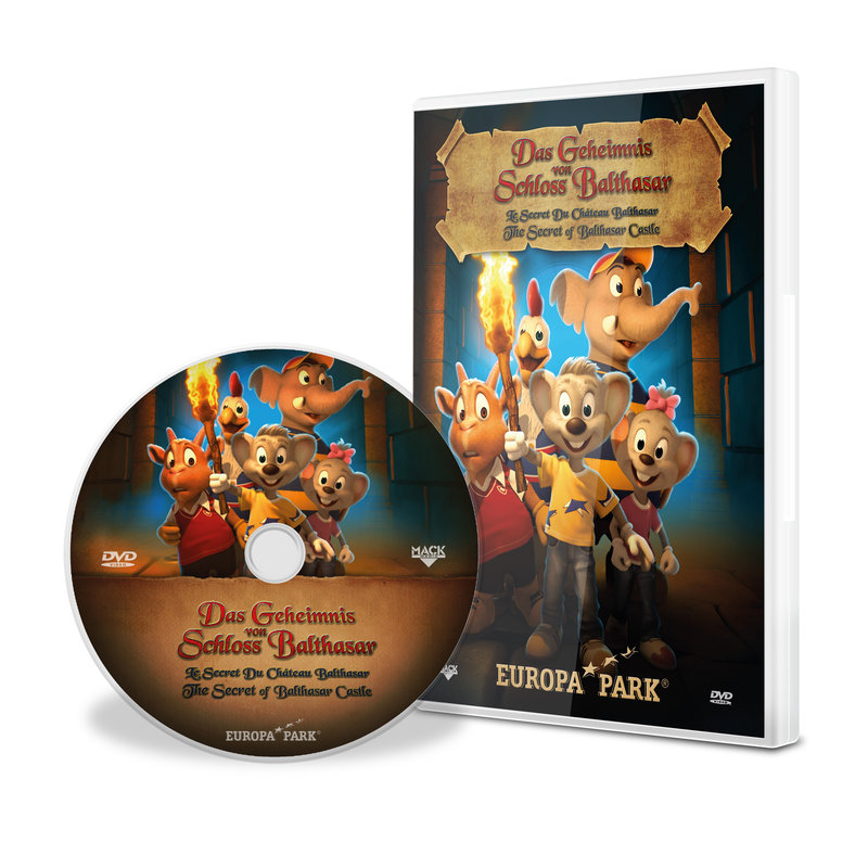 "DVD ""The Secret of Balthasar Castle"""