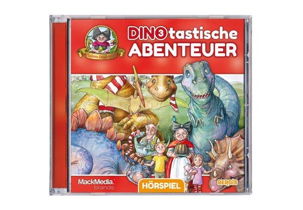 """CD Hörspiel Madame Freudenreich """"Dinotastische Abenteuer 3"""""""