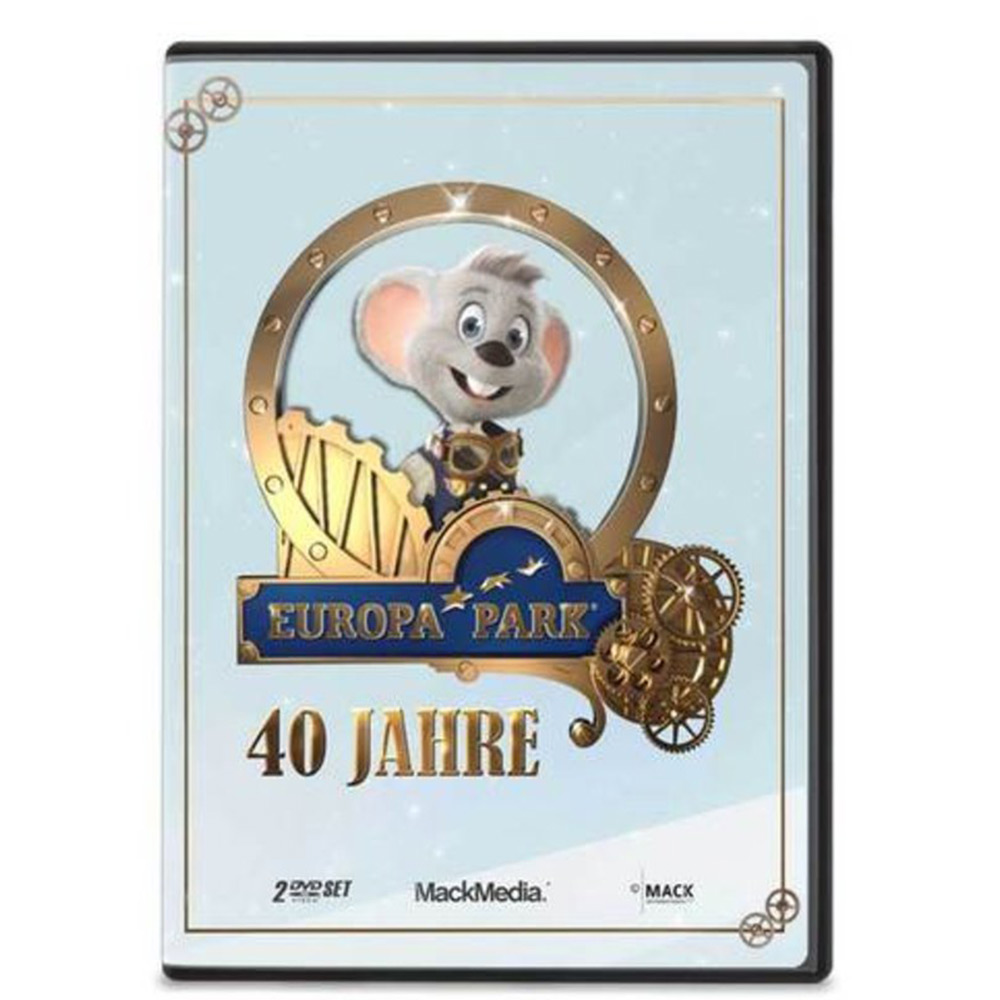 Double DVD 40 Years Europa-Park