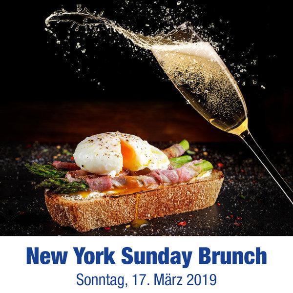 New York Sunday Brunch 17.03.19