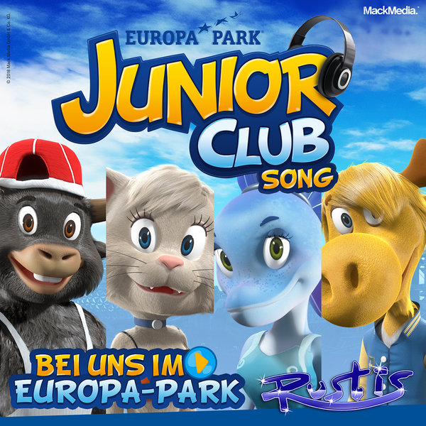 "CD Rustis ""Bei uns im Europa-Park"" Junior Club Song"