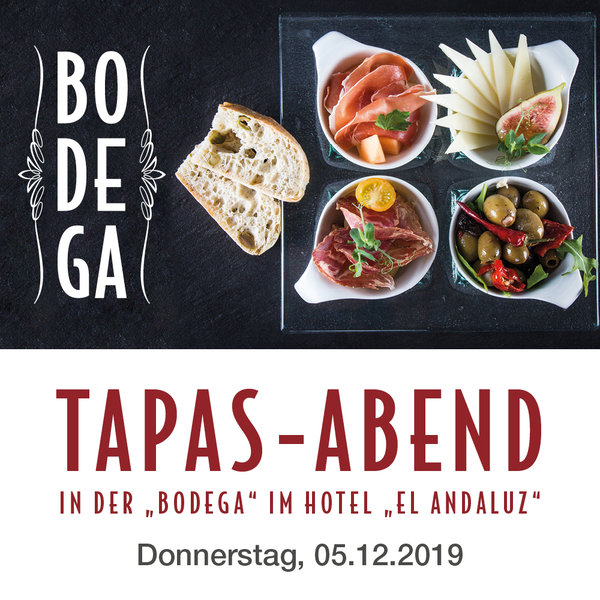 Tapas Abend 05.12.19 - Download