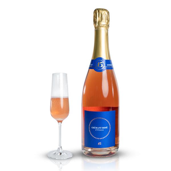 Crémant rosé 45 Jahre Europa-Park Edition