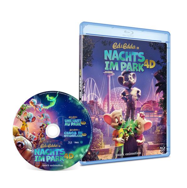 """Blu-Ray """"Une Nuit au Parc"""""""
