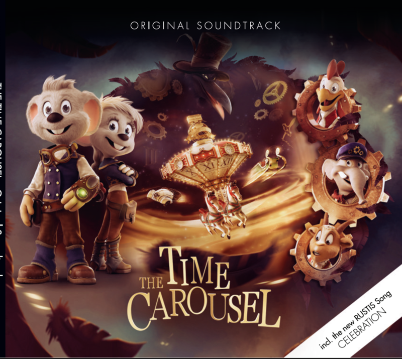 CD « Le Carrousel du Temps » Soundtrack