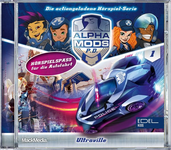 Hörspiel CD Alpha Mods - Vol. 1
