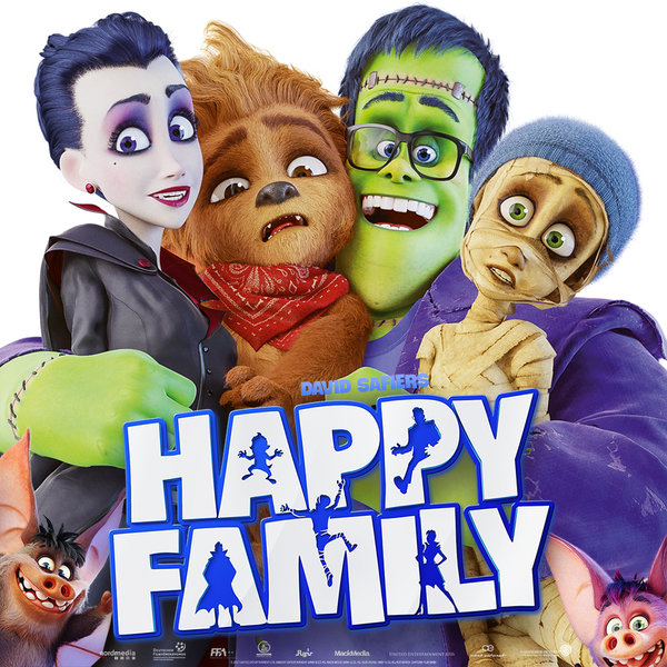 """DVD Film """"Happy Family"""""""