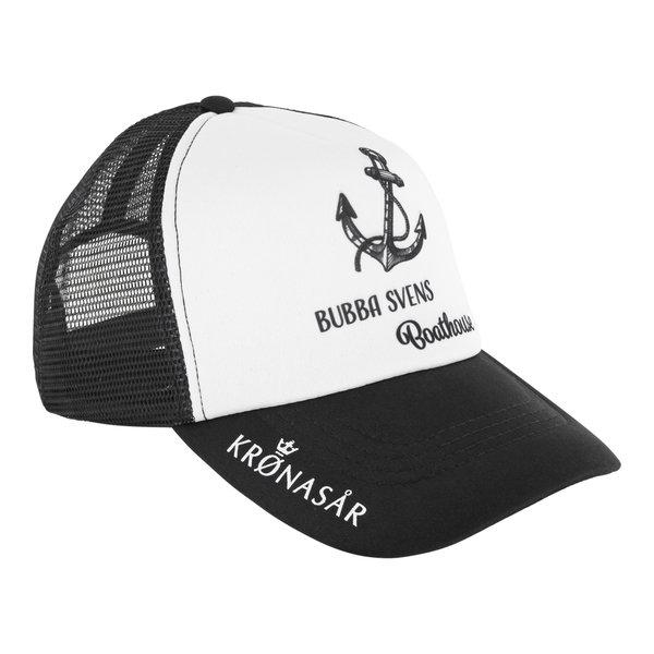 Cap schwarz-weiß BUBBA SVENS