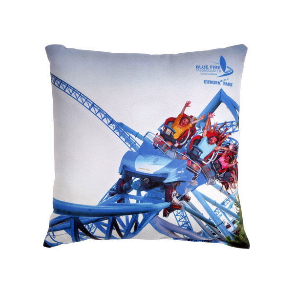 Cushion Blue Fire