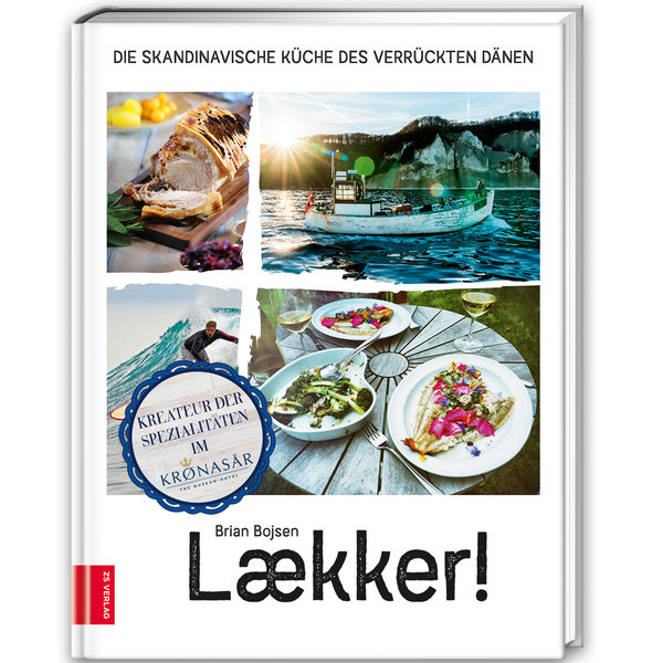 Cookbook Laeckker from Brian Bojsen