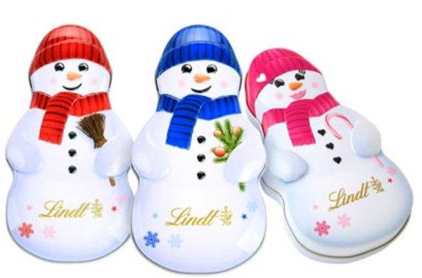 Snowman Lindt Tin Case 29g