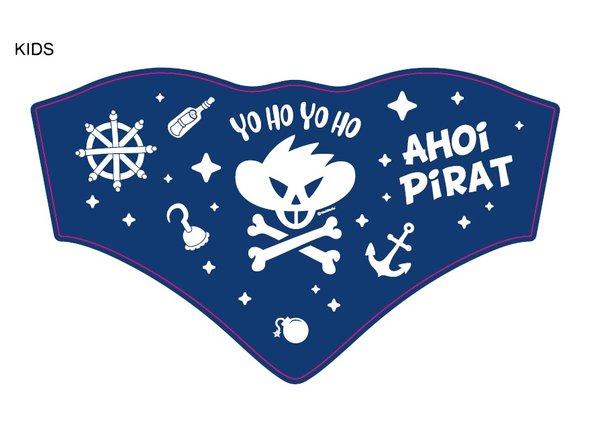 Maskenschal Kind Pirat Ahoi