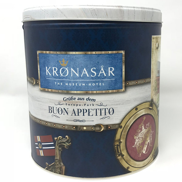 Panettone und limitierte Geschenkdose Krönasar